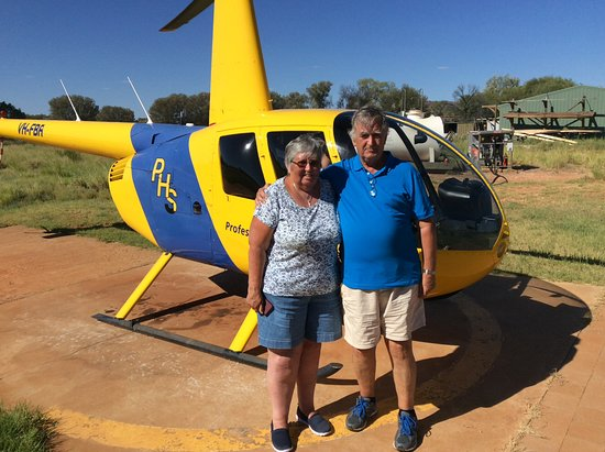 Yulara, Αυστραλία: Pre-flight over Kings Canyon