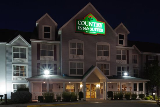West Valley City, Γιούτα: CountryInn&Suites WestValleyUT ExteriorNight