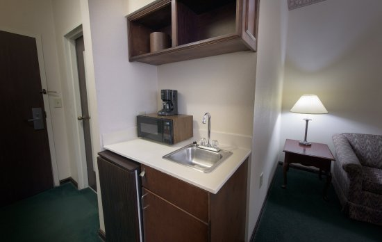 Merry Acres Inn: Suite Kitchenette