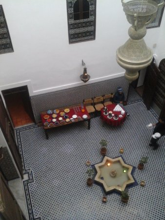 Riad Dar Tafilalet: El desayuno
