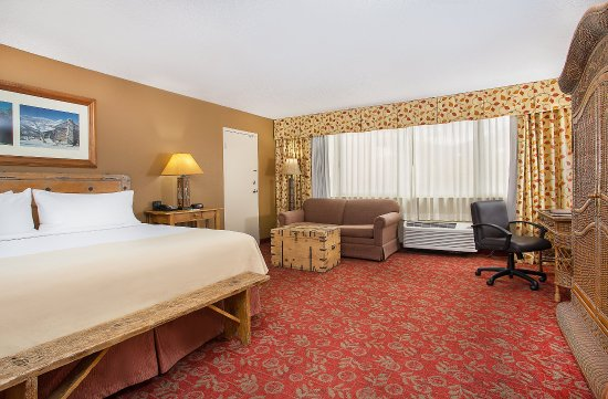 Holiday Inn Asheville - Biltmore East: King Executive Guest Room spacious room with mountain view