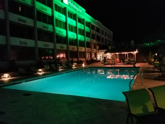 Holiday Inn Asheville - Biltmore East: Pool Side - Relax with a evening Swim