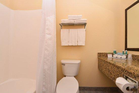 Morgantown, Virginia Occidental: Guest Bathroom