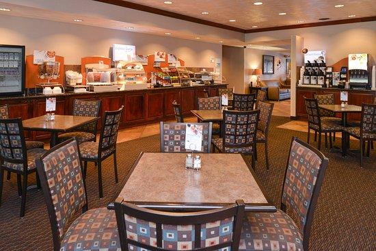 Morgantown, Virginia Occidental: Breakfast Area