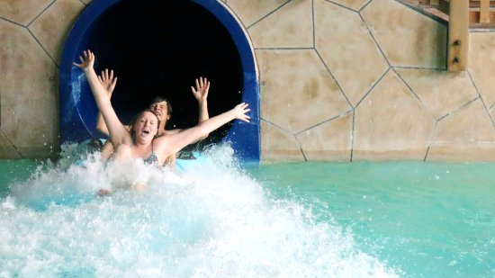 Baxter, MN: The tube slide is a blast