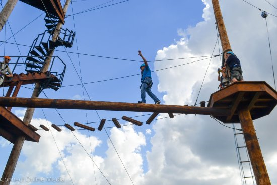 All new Zip Line Adventure right in Oldsmar