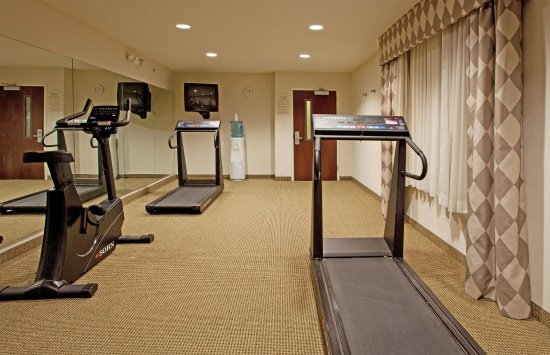 Mebane, NC: Stretch your legs after a long road trip in our fitness center!