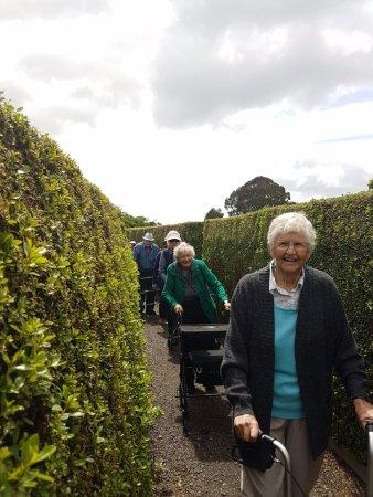 Ngongotaha, New Zealand: We weren't lying when we said the maze was for EVERYONE