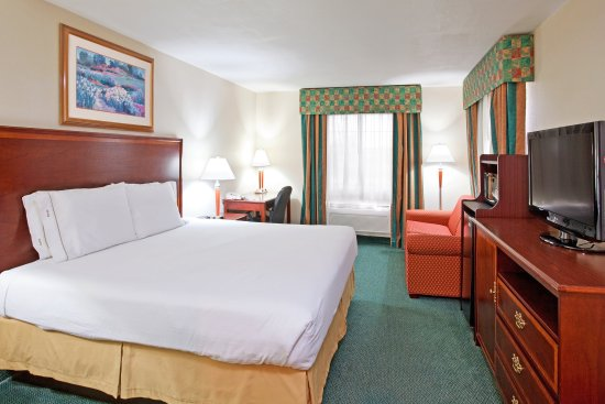 Holiday Inn Express Birch Run (Frankenmuth Area): King Bed Guest Room