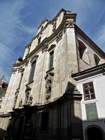 Brno, Çek Cumhuriyeti: Front of Church