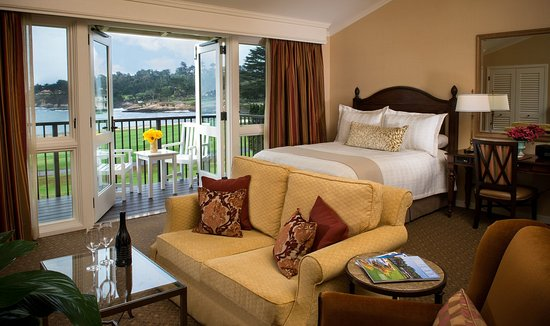 The Lodge At Pebble Beach Ocean View Room
