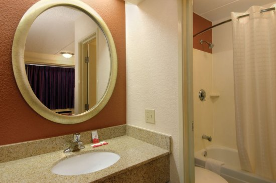 Bathroom Sinks Baton Rouge bathroom vanity - picture of red roof inn baton rouge, baton rouge