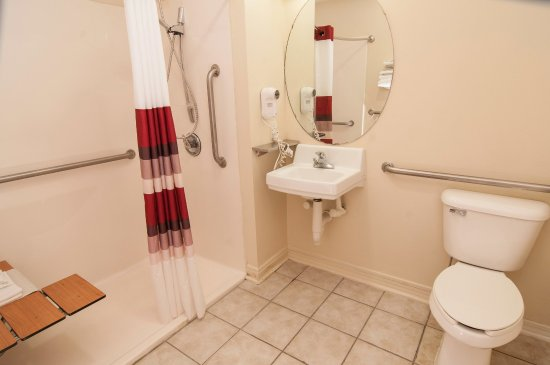 Milton, FL: ADA Roll-In Shower
