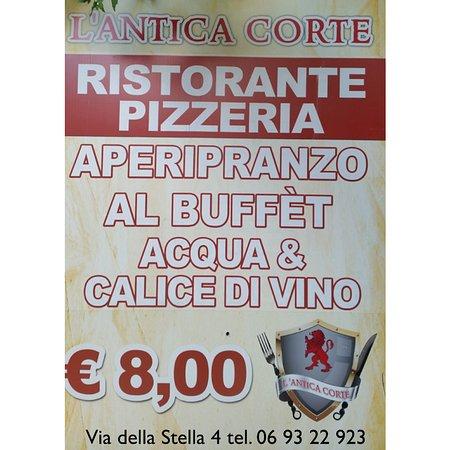 Albano Laziale, Italy: Il pranzo a L' Antica Corte ti conviene!