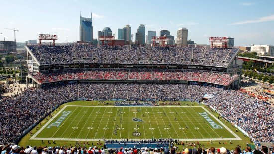 Brentwood, TN: Nissan Stadium home of the Tennessee Titans!
