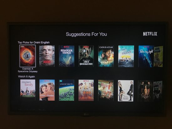 Apple TV and Netflix - Picture of Orsini 46 B&B, Naples