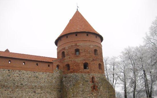 Trakai, ليتوانيا: Trakai linna torni.