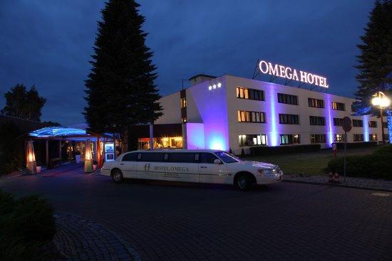 Olsztyn, Poland: front of the hotel