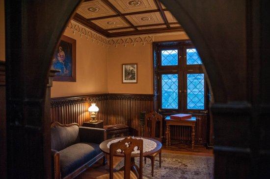 Trechtingshausen, Alemania: Impression von Burg Rheinstein/ Impression Rheinstein Castle