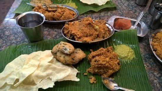 Karpakambal Mess: Vathakolambu Rice