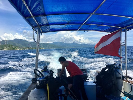Miguel's Diving Gorontalo: One of the smaller boats