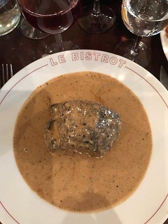 Sopa, steak au Pouvre
