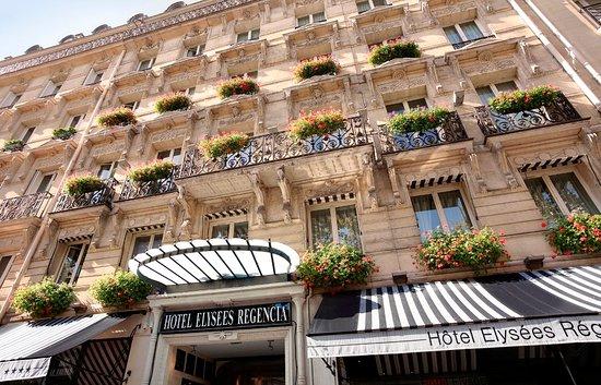 Hotel Elysees Regencia Paris: Facade