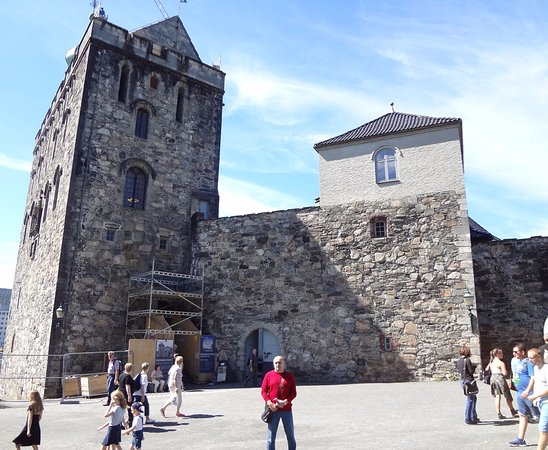 Photo of Historic Site Rosenkrantz Tower - Bymuseet i Bergen at Bergenhus Festning, Bergen 5003, Norway