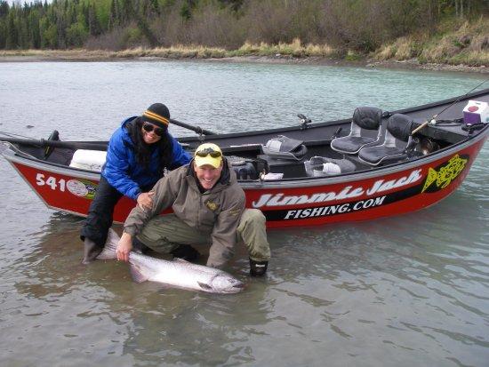 Kenai, AK: Kasilof River King Salmon Fishing