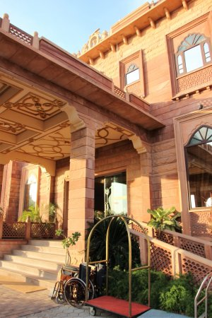 Marugarh Resort: Eingang