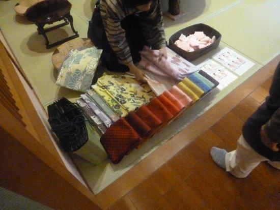 Kagetsutei: 好みの浴衣を選べます。