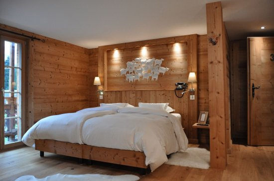 Champery, Schweiz: Double King Room