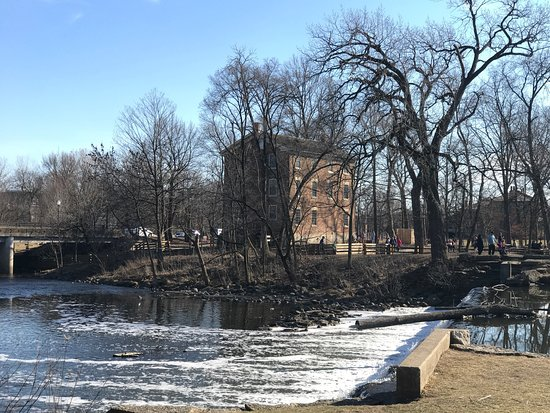 Oak Brook, IL: Graue Mill On a warm Feb 2017 day