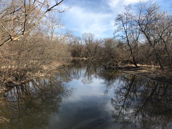 Oak Brook, إلينوي: Graue Mill On a warm Feb 2017 day