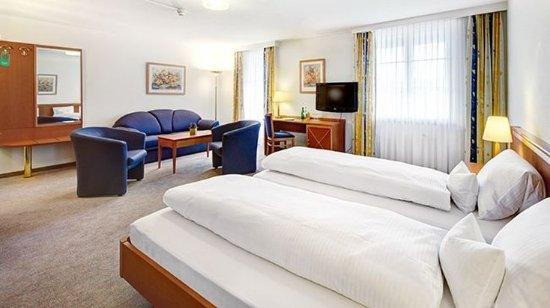 Rheinfelden, Switzerland: Junior Suite with Rhine view