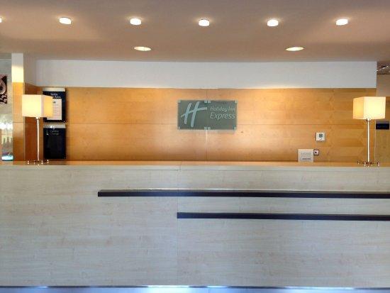 Aldaia, Spain: Front Desk