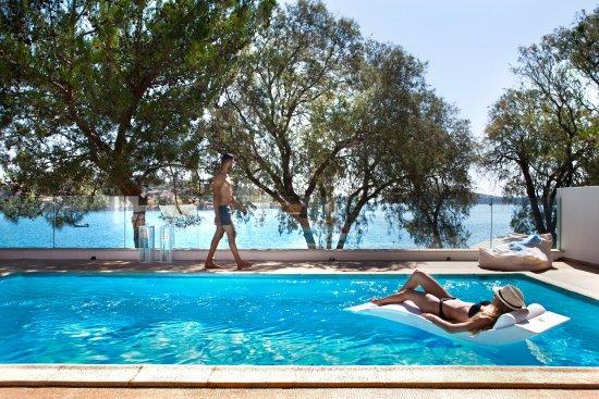 Minos Beach Art hotel: Two bedroom Villa Exterior