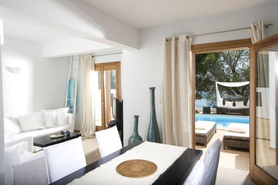 Minos Beach Art hotel: 2Bed Villa Interior