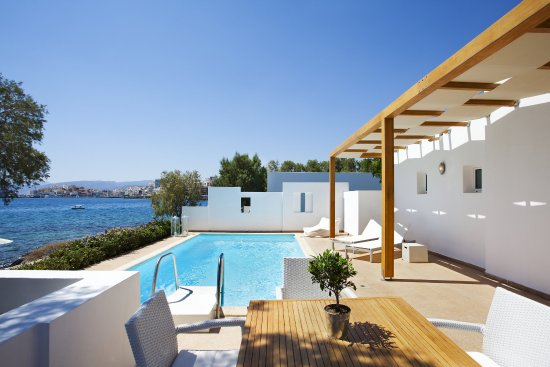 Minos Beach Art hotel: 2Bedroom Villa Exterior