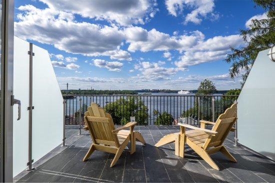 Nacka, Suède : Newport Seaview Room Terrace