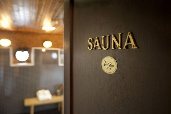 Malardrottningen Yacht Hotel and Restaurant: Sauna