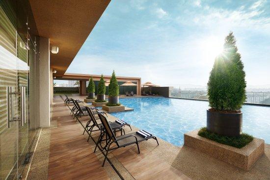 Sunway Resort Hotel & Spa: Sunway Clio Swimming Pool View