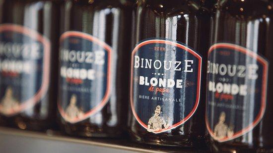 Oullins, Francia: La binouze de Papa : bière blonde artisanale