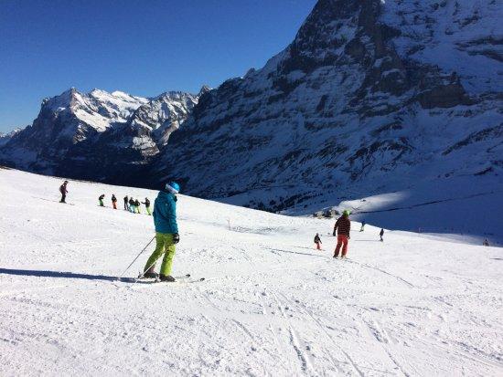 Kleine Scheidegg, Sveits: Top Skigebiet auf der Kleinen Scheidegg