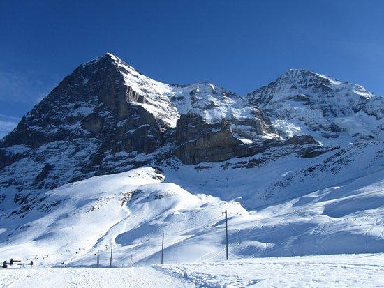 Кляйне-Шайдегг, Швейцария: Super Schlittelwege nach Grindelwald und Wengen
