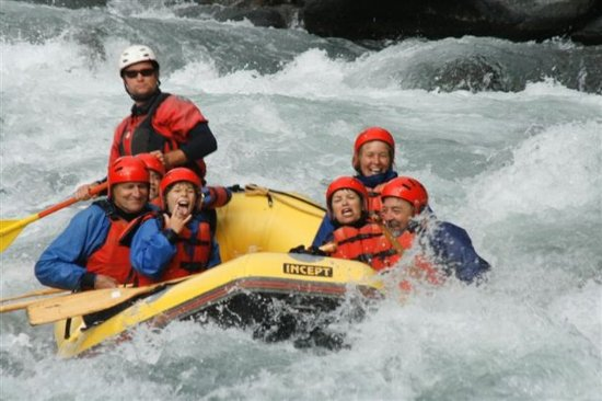 Turangi, Nowa Zelandia: Whitewater Rafting