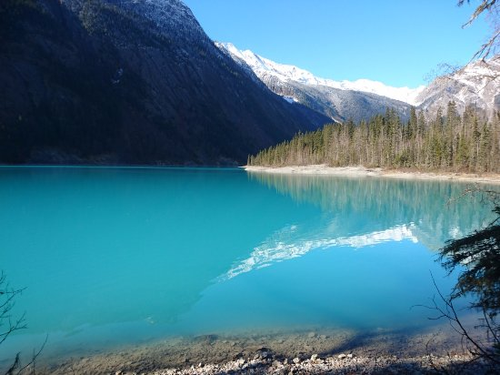 Les Rocheuses canadiennes, Canada : Am Kinney Lake
