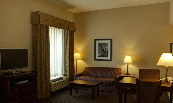 Hampton Inn & Suites Palm Coast: Guest Room Living Area