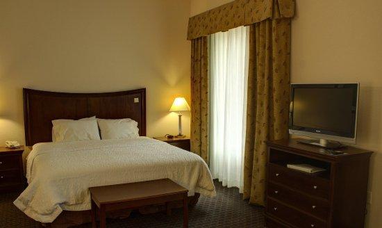 Hampton Inn & Suites Palm Coast: King Bedroom