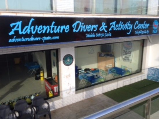 Cabo de Palos, สเปน: Adventure divers & Activity center